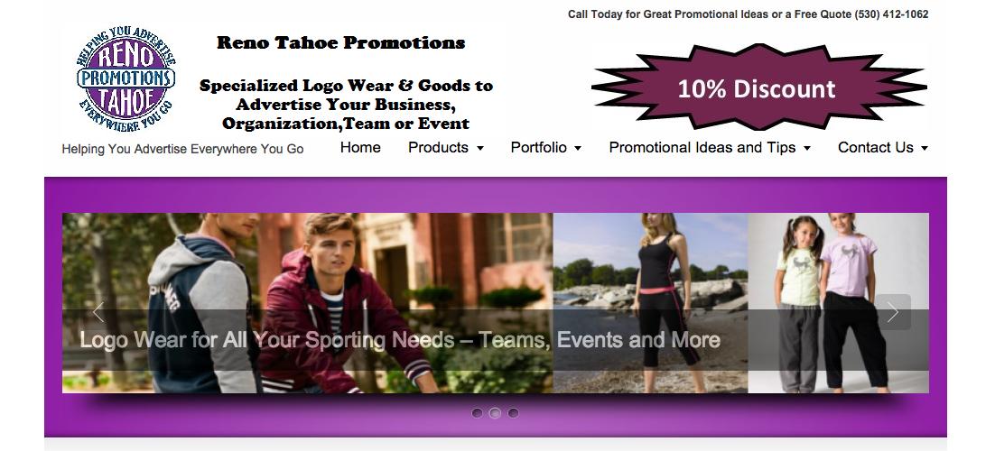 Reno Tahoe Promotions