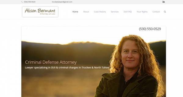 Alison Bermant Truckee Lawyer